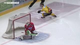 Highlights: EBEL, 3. Pick Round: spusu Vienna Capitals vs. EC-KAC 4:1
