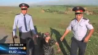 КТК - В ЮКО родственники заключенных колонии строгого режима устроили акцию протеста