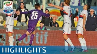 Fiorentina - Genoa - 3-3 - Highlights - Giornata 22 - Serie A TIM 2016/17