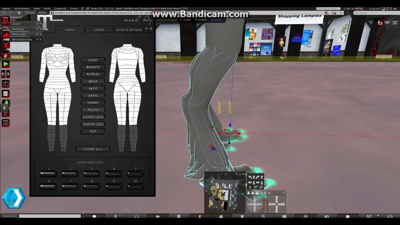 2 Part SL How apply Maitreya mesh body for textures ??? for 18+