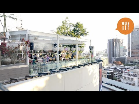 Rooftop Bar Brings the BEACH to Bangkok