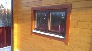 деревянные окна со стеклопакетом в доме(деревянные окна http://artdivina.ru., 2015-04-03T13:15:08.000Z)