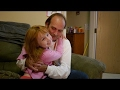 Mike and his 6-year-old daughter Taylor live in a homeless shelter.