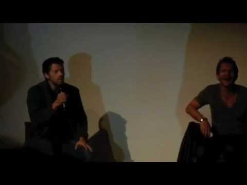Supernatural Misha Collins and Sebastian Roché panel in Germany Full length!