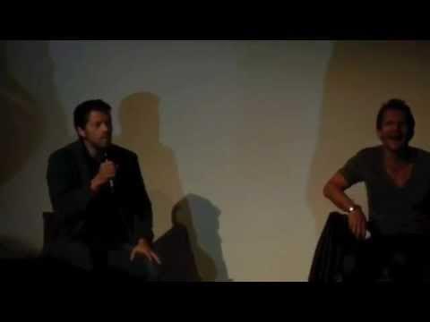 Supernatural Misha Collins and Sebastian Roché panel in Germany Full length!