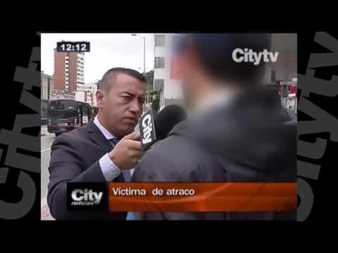 Siete ciclistas fueron atracados en Bogotá | CityTv | Septiembre 19