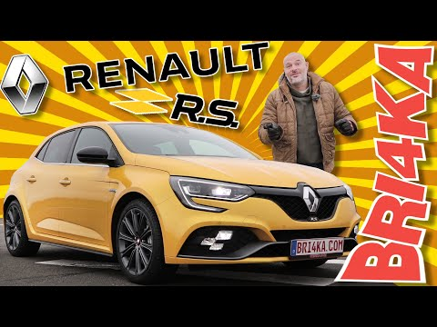 RENAULT MEGANE RS| 3GEN|  Test and Review | Bri4ka.com