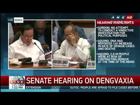 Gordon grills Aquino over Sanofi's record of bribery, false claim