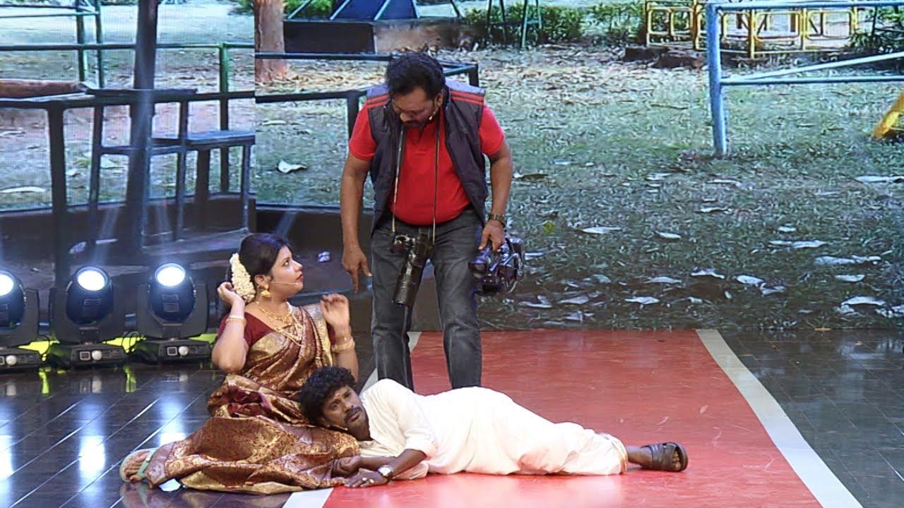 Thakarppan Comedy l The boy friend who shooted own girl friend's love scene l Mazhavil Manorama