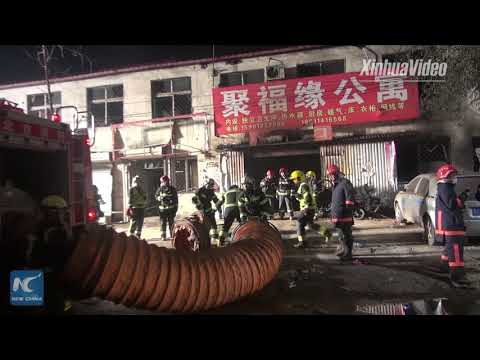 19 people dead in Beijing house fire