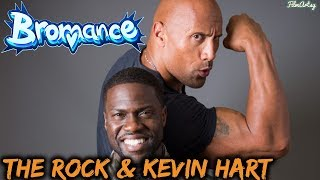 Dwayne 'The Rock' Johnson and Kevin Hart Bromance | Funny Moments Dwayne Johnson and Kevin Hart