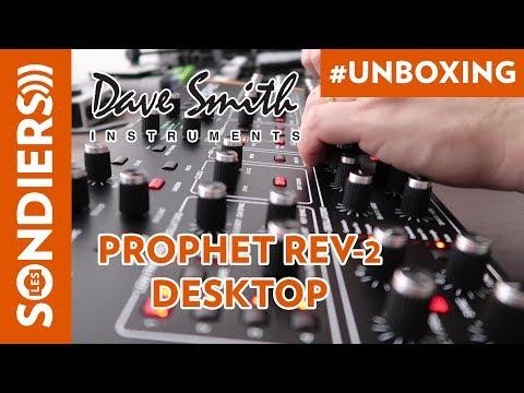 DAVE SMITH INSTRUMENTS PROPHET REV-2 DESKTOP : UNBOXING ET DEMO FR