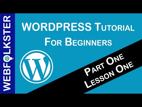 WordPress Tutorial for Beginners - Part 1, Lesson 1 thumbnail