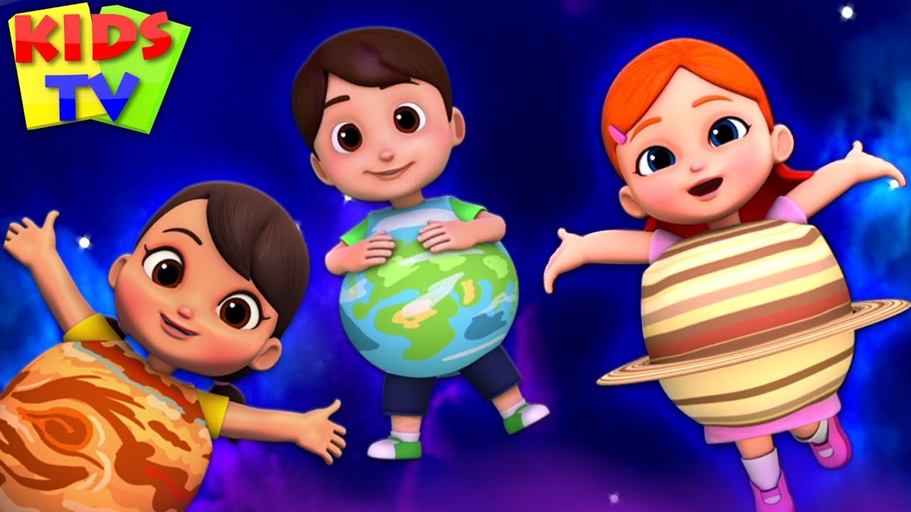 Planets Song | Boom Buddies | Baby Songs & Nursery Rhymes | Cartoon Videos for Toddlers