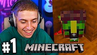 ON DÉCOUVRE UN GOBELIN FOU ! #1 (Nouvelle Aventure Minecraft avec Inox)