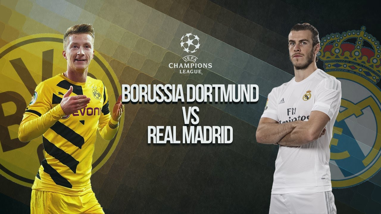 436f8c4a3fe Borussia Dortmund vs Real Madrid PROMO - UEFA Champions League 2016 ...