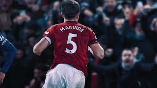 Harry Maguire Goal vs Norwich City / 27.06.2020 / Fa Cup Quarter-finals / Manchester United