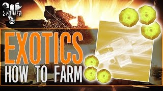 "Destiny: Exotic Engram Farming - ""How to Get Exotic Engrams"" - How to farm Exotic Engrams in Destiny"