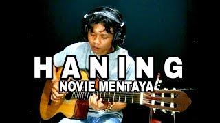 HANING - Fingerstyle Cover   NOVIE MENTAYA   Lagu Dayak Kalteng