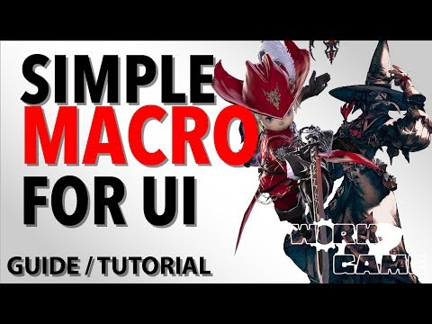 FFXIV UI Macro To Swap HUD Automatically [New Player Ui Guide]