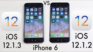(iPhone 6) iOS 12.1.3 Vs iOS 12.1.2! (Comparison)