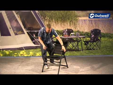 Outwell Kenai Camping Chair | Innovative Family Camping
