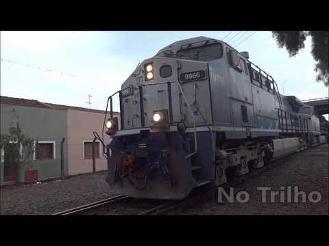 No Trilho - Trem partido do patio ZSK (São Carlos)