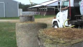 QLF Bale Pouring DemonstrationWisconsin