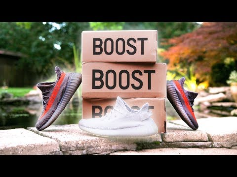 REAL vs FAKE YEEZY 350 BOOST!!! (the best fake yeezy's)