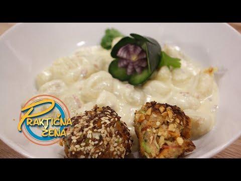 Praktična žena - 1. Njoke u sosu od pavlake 2. Mini ćuftice različitih ukusa Mp3