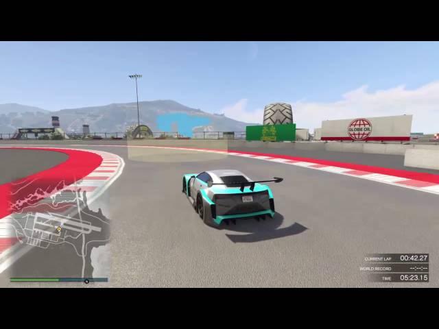 GTA created race Zancudo Speedway