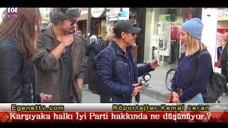 Karşıyaka halkı yeni kurulan İyi Parti hakkında  ne düşünüyor.?