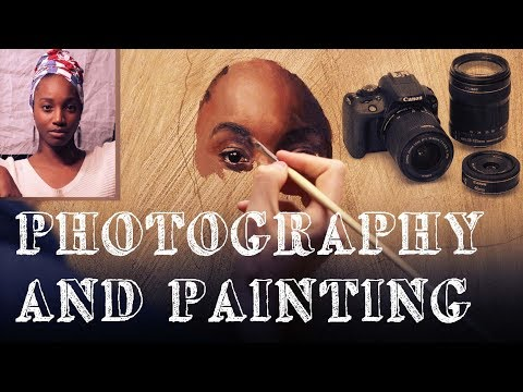 Photography and Painting - How to use Photography as a Painter