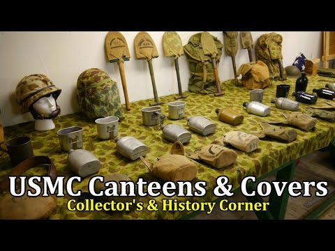 USMC Canteens and Covers Through the History