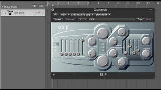 Make A Kick Drum With Logics ES P Synth