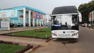 Arrivée d'Al Hilal Elobied à Lubumbashi le 08 mars 2017 2017 Video