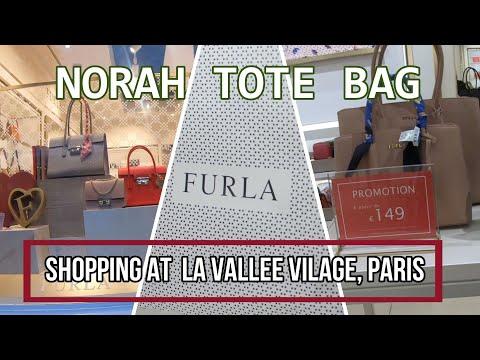 Shopping With Me La Vallee Village    Review Furla Norah Tote Bag    Handbag Lover