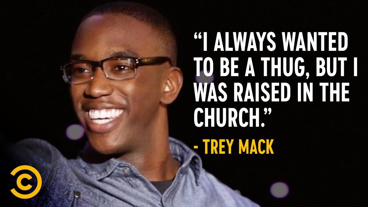 Trey Mack Would Be a Bad Gang Member