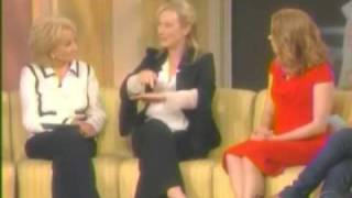 The View: Meryl Streep - Amy Adams - Nora Ephron Part 1 of 2