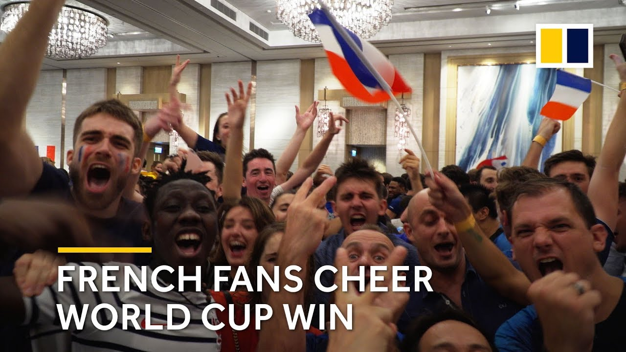 7d2ce9896a7 French soccer fans celebrate their team s World Cup victory in Hong Kong