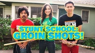Stunt School: How To Get Hit in the Groin