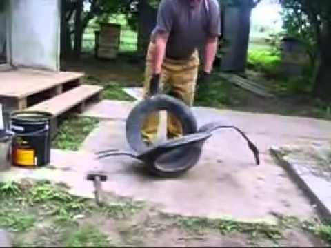 Как сделать Лебедя из машинной