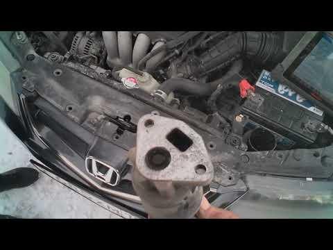 Honda Accord, двигатель K20A - проблема с клапаном EGR
