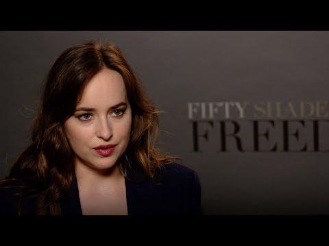 CINQUANTA SFUMATURE DI ROSSO - Intervista a Dakota Johnson (sottotitoli in italiano)