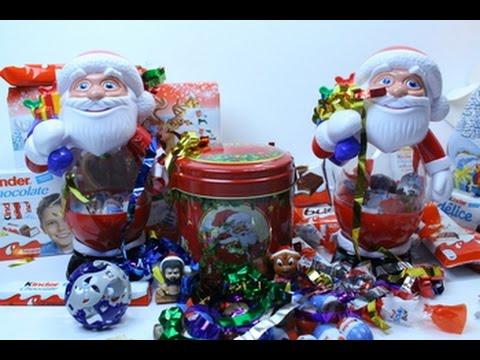Встречайте новый год вместе с kinder®!. В этом году kinder® приготовил для вас множество новогодних подарков: шоколадные фигуры дед мороза,