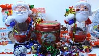 Сладкие Новогодние подарки  Киндер сюрприз к Новому Году(Сладкие Новогодние подарки Киндер сюрприз к Новому Году Смотрите ещё видео на моём канале: Киндер сюрприз..., 2014-12-29T17:44:34.000Z)