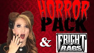 Horror PackMay Unboxing & Fright Rags Ash Vs Evil Dead Haul & Channel Update