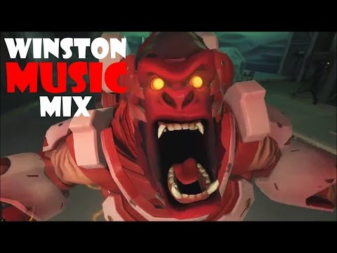 Best Music Mix for Playing Winston (Overwatch) - VGMmix