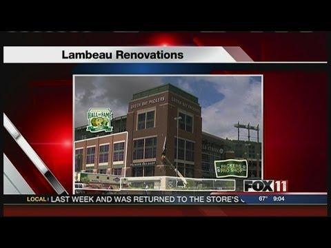 Lambeau Field renovations