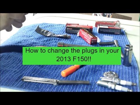2013 Ford F150 Spark Plug Change in a 5.0